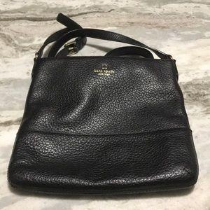 Barely used black Kate spade crossbody bag